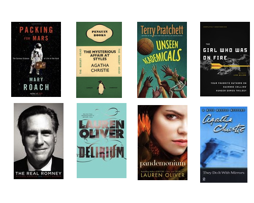 all covers via Goodreads