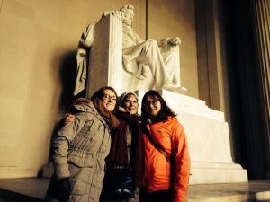 mom, A. and I.