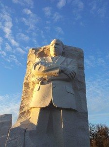 the MLK memorial. Absolutely stunning.