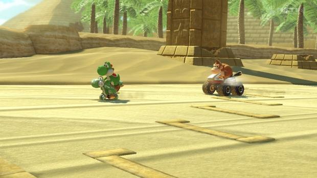 Yoshi riding Yoshi here!